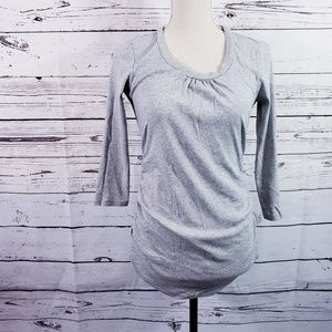 A Pea In The Pod Side Ruched Maternity Top S/P
